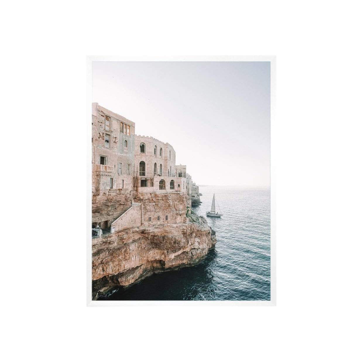 Carley Rudd Photography + Prints 8 x 10 / unframed Italian Cliffside Print