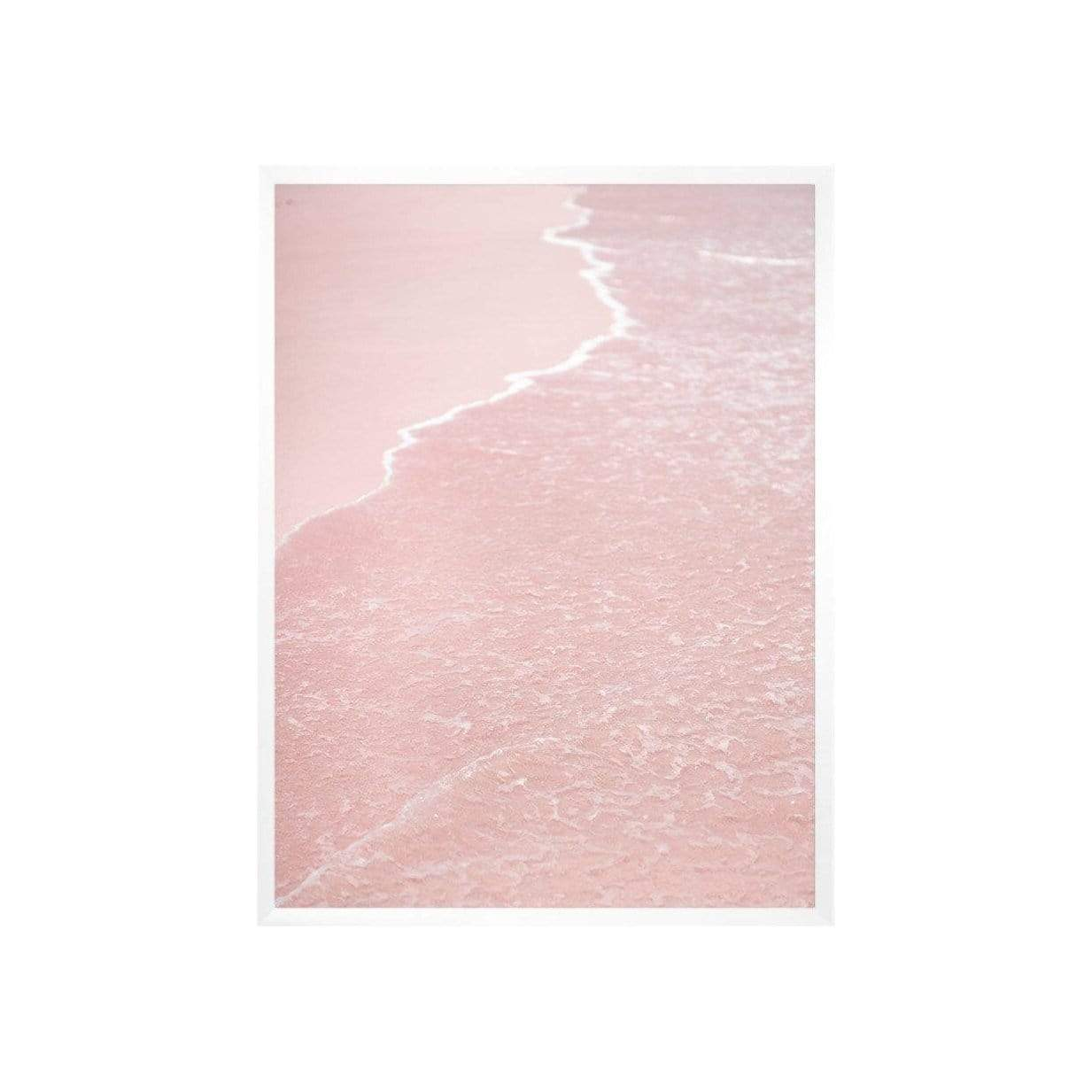 Pink Sands Indonesia Print