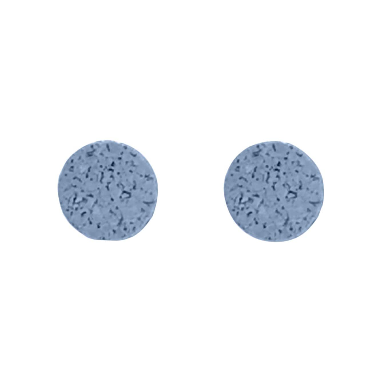 Champ.Co Earrings Blue Simple Studs