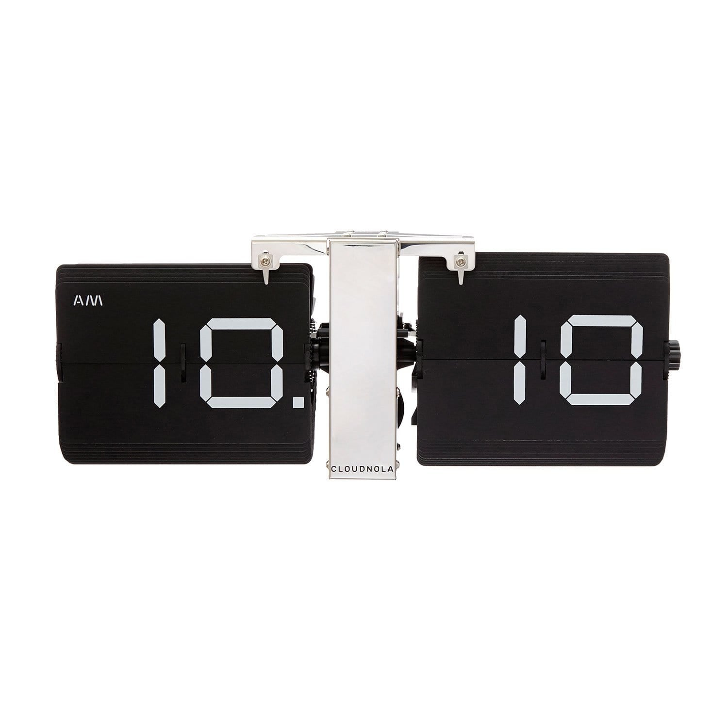 cloudnola Flip Clock Flipping Out Black Flip Clock