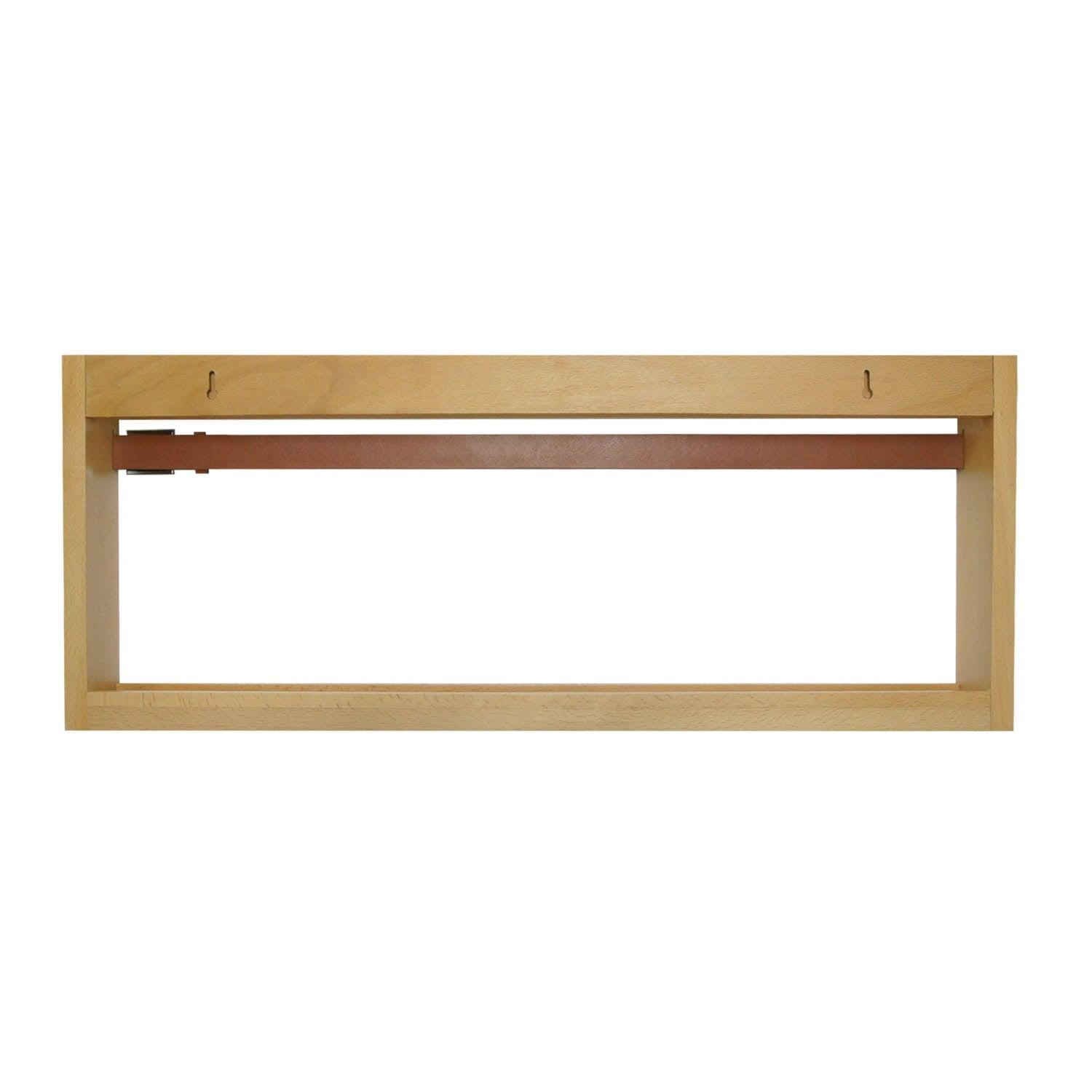Wood Showroom Wall Organizer