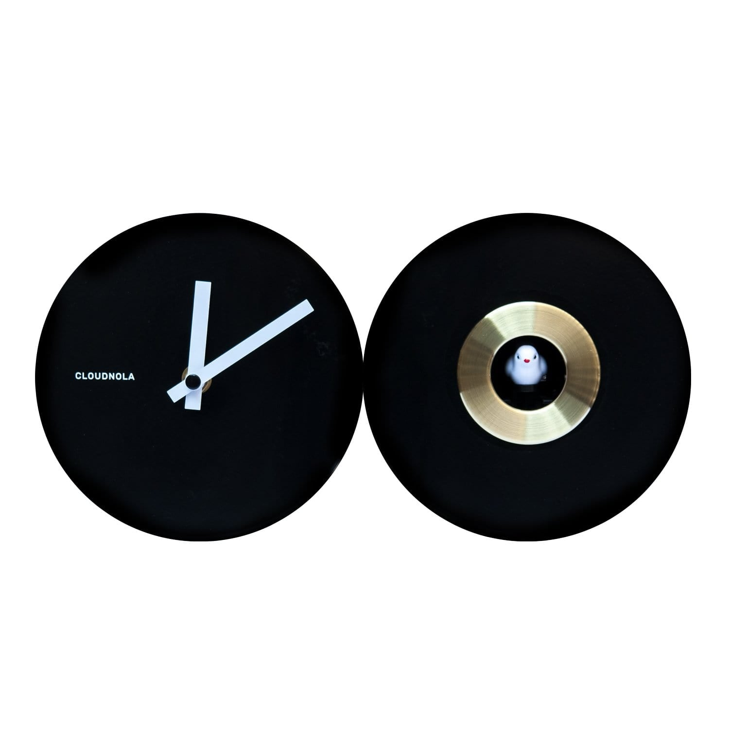 cloudnola Wall Clock Cuckoo EPL Black Clock