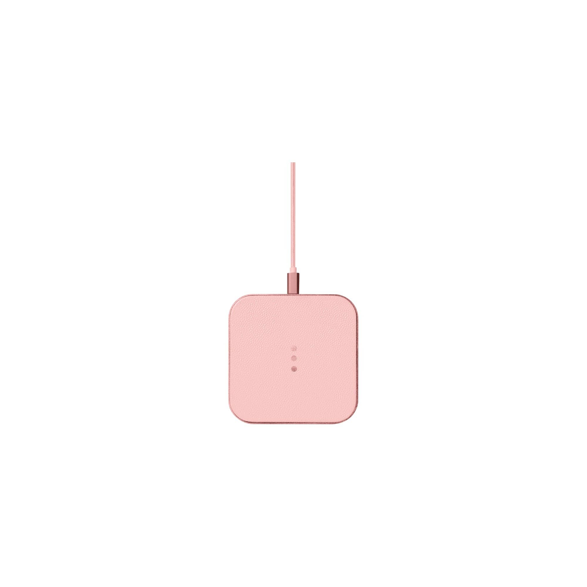 COURANT Tech Stands + Accessories CATCH:1 Wireless Charger in Dusty Rose