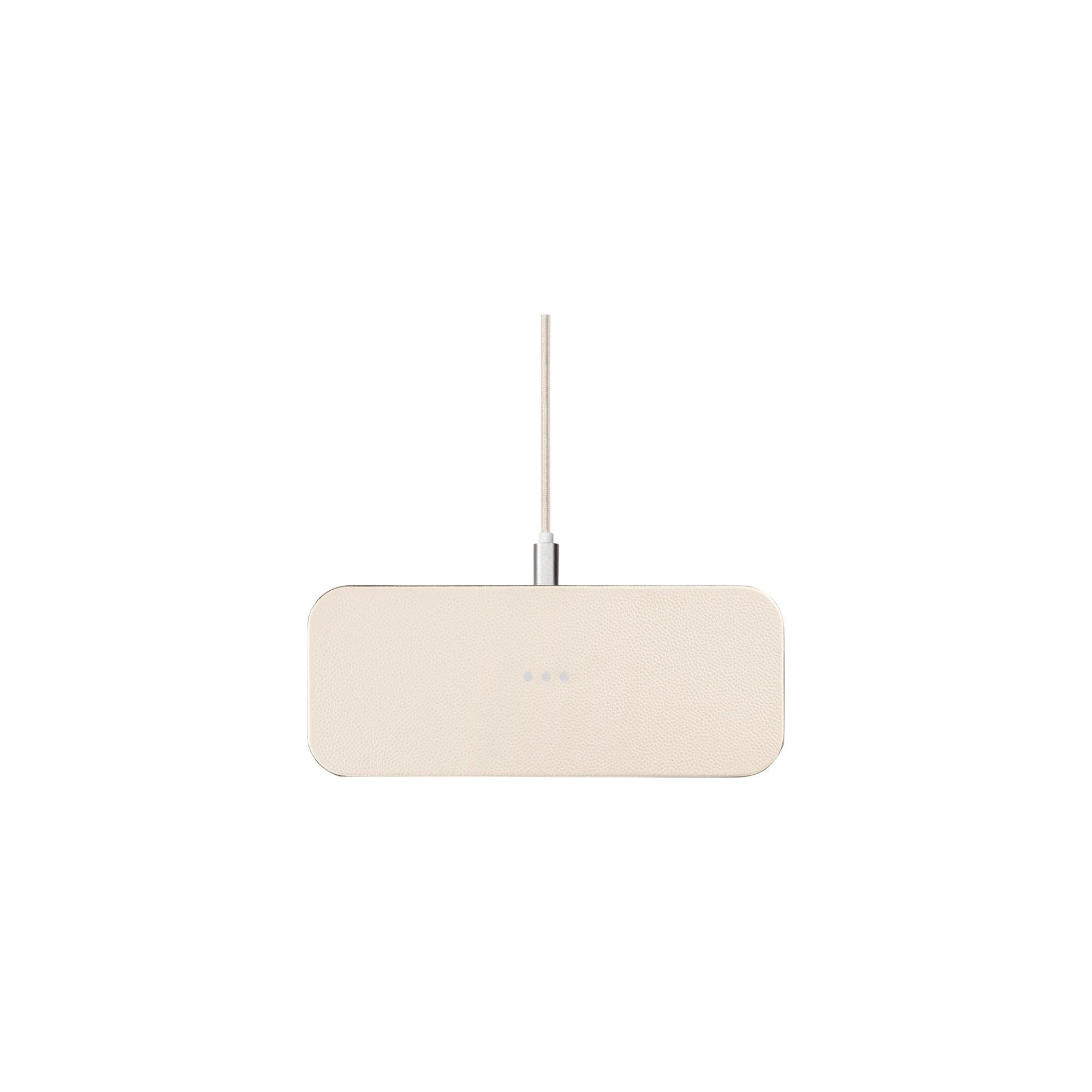 CATCH:2 Wireless Charger in Bone