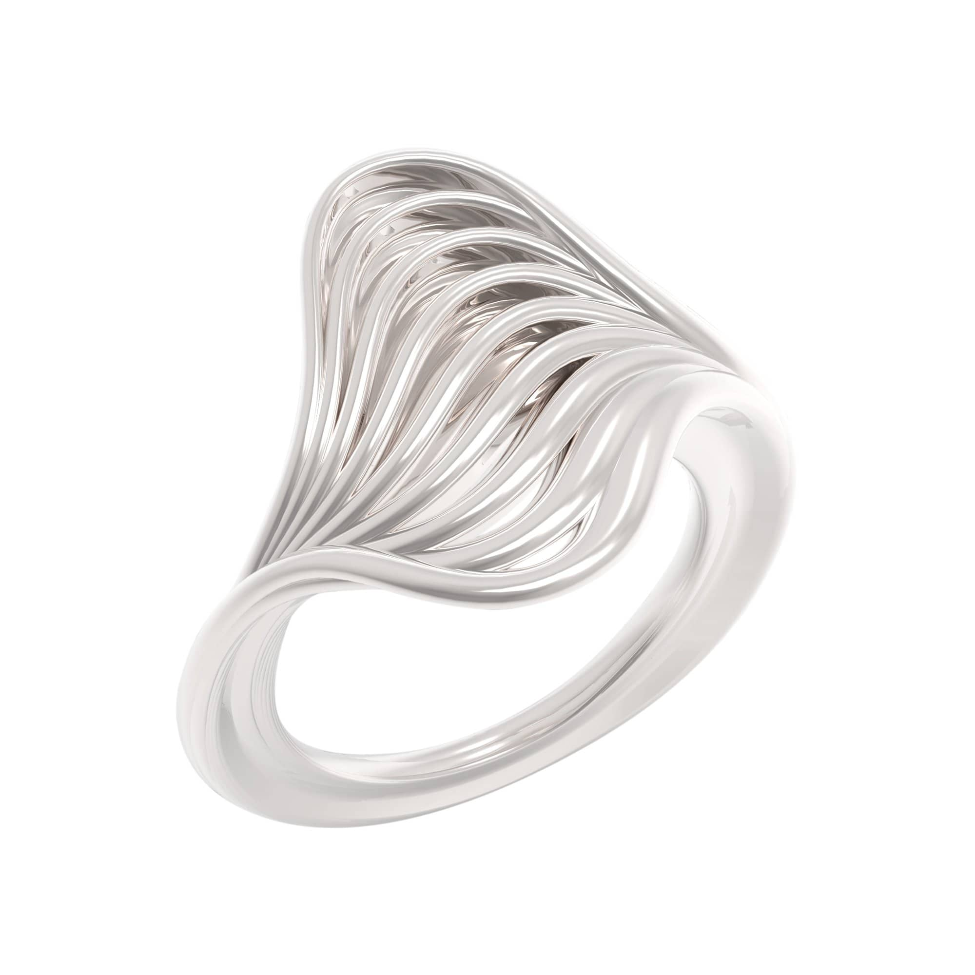 DDNKA Studio Rings 4.5 / Silver Russe Ring