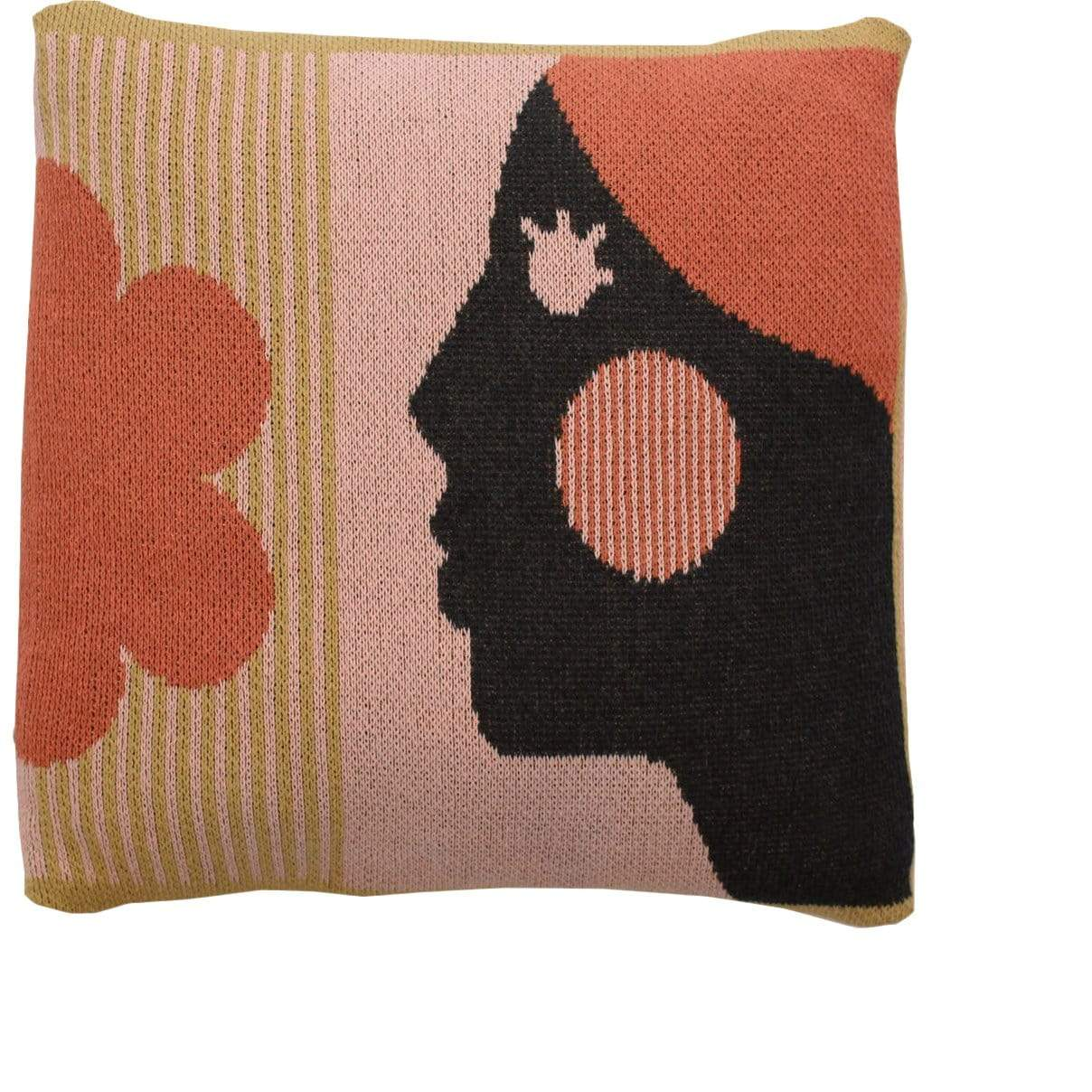 DittoHouse Cushions + Throws Courageous Woman Pillow Cover
