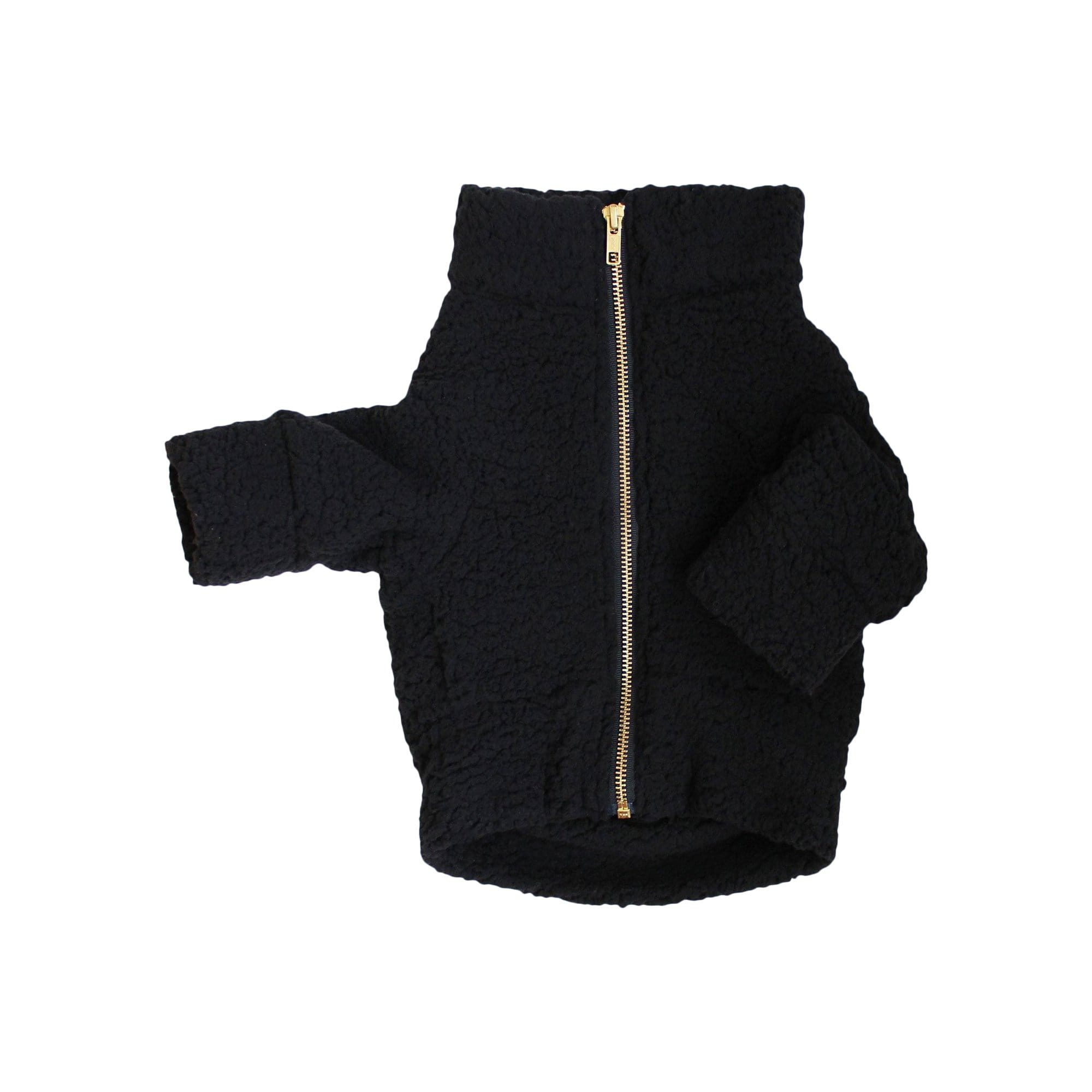 Dog Threads Coats + Jackets Onyx Teddy Jacket