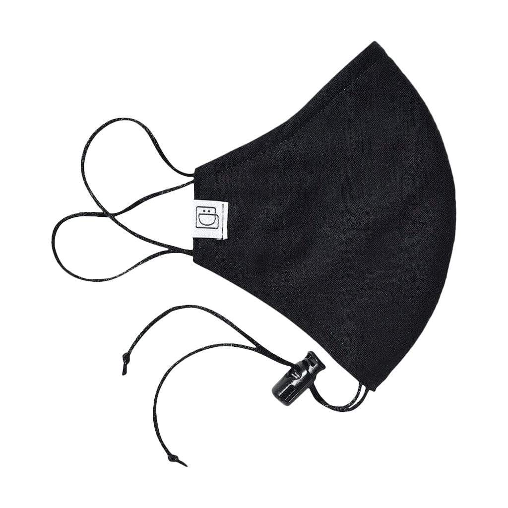 Drawstring Masks Face Mask Drawstring Mask - Black