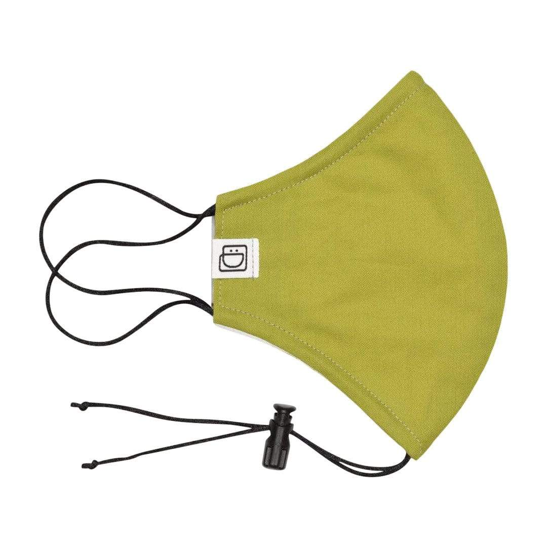 Light Green Drawstring Face Mask