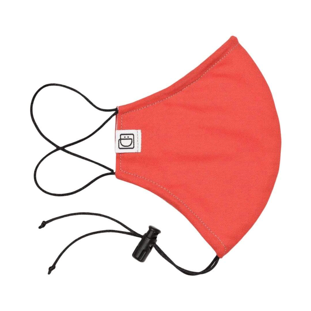 Drawstring Masks Face Mask Drawstring Mask - Red