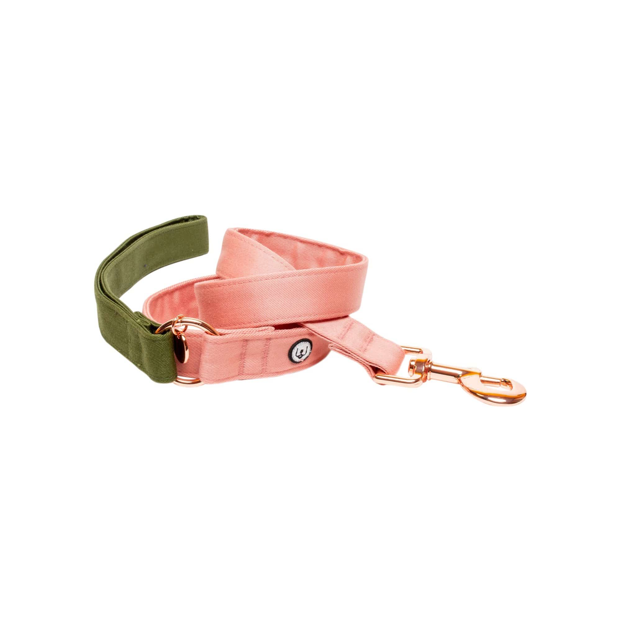 Eat Play Wag Leashes + Leads Olive-Blossom Leash