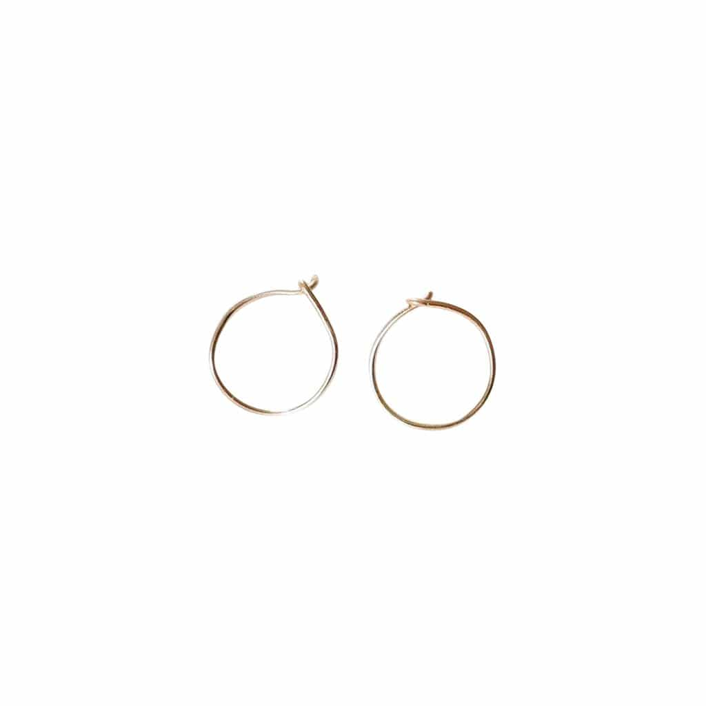 Emily's Earrings Gold Fill The Circle Earring
