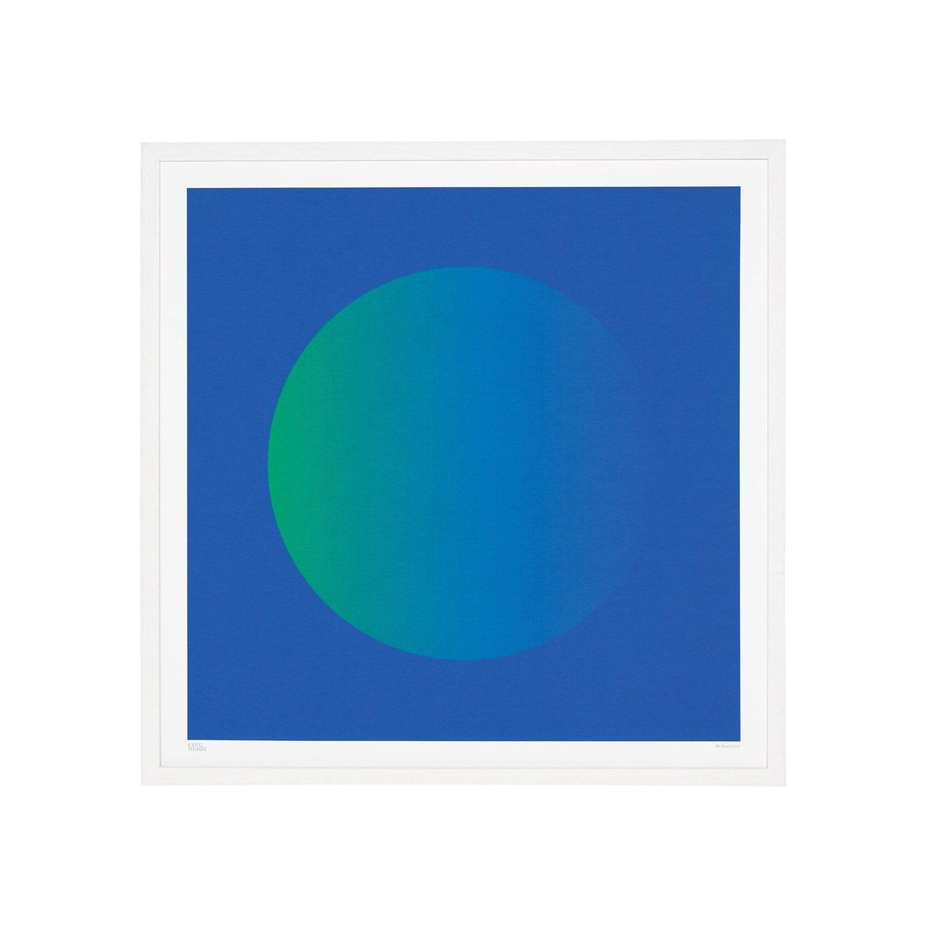 evermade Photography + Prints Unframed Circle Gradient