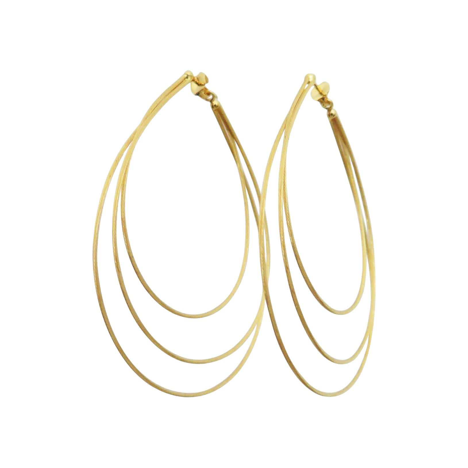 Ex Ovo Earrings Small / Gold Vermeil Multi Cable Earrings
