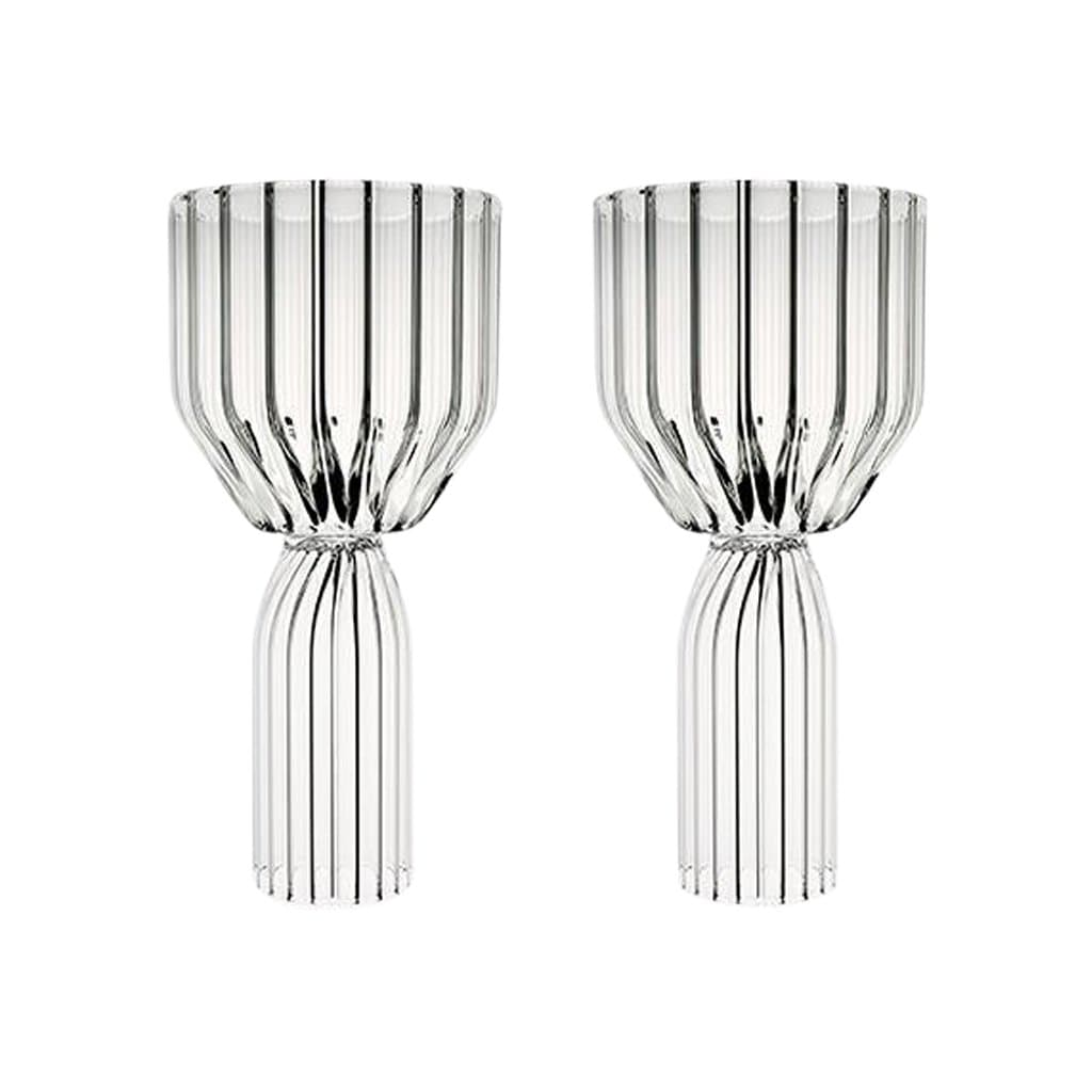 Fferrone Glassware Margot Dessert Goblet Set