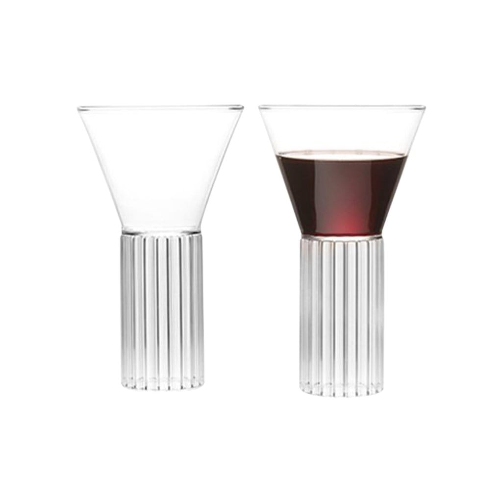 Fferrone Glassware Sofia Tall Large Set