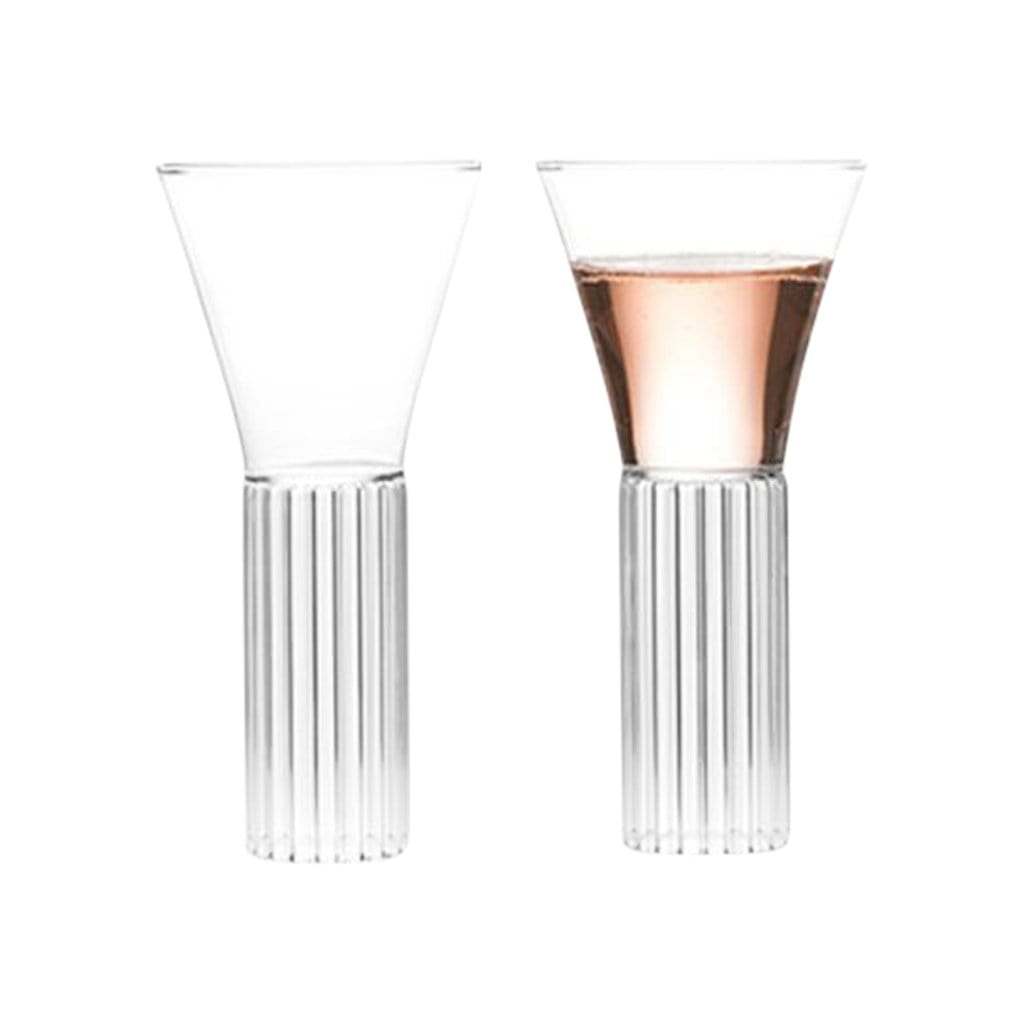 Fferrone Glassware Sofia Tall Medium Set