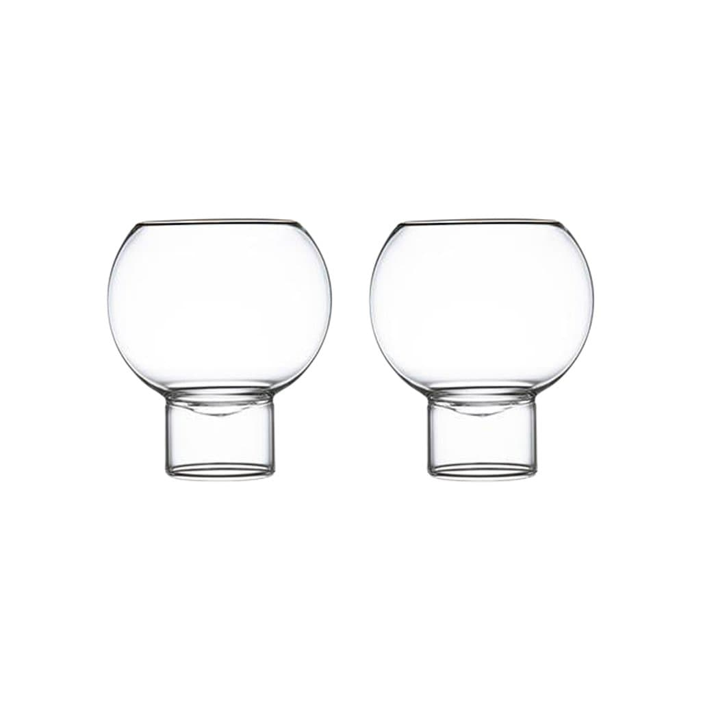 Fferrone Glassware Tulip Low Small Set