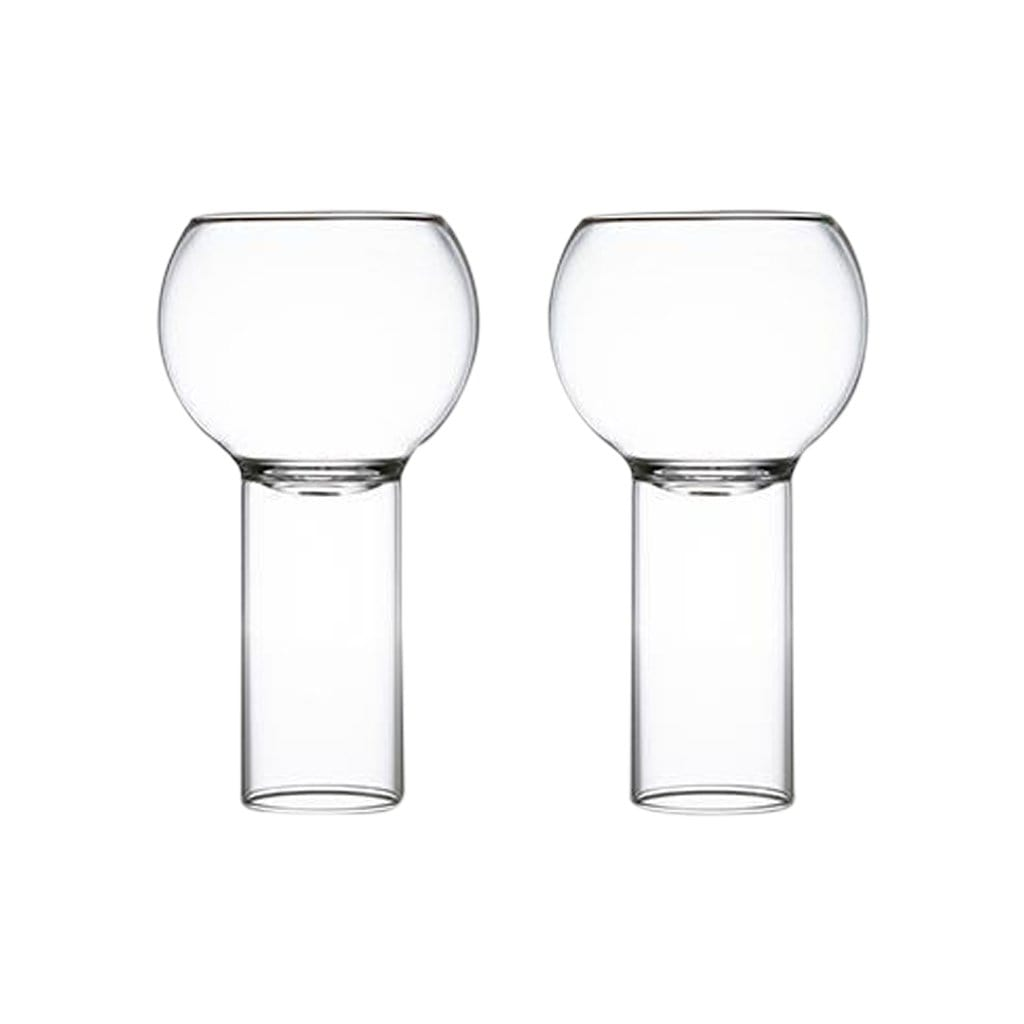 Fferrone Glassware Tulip Tall Small Set