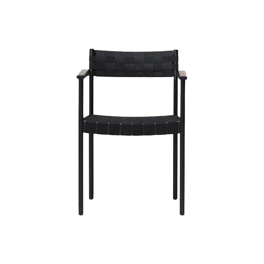 Form + Refine Furniture Motif Armchair, Black-stained Oak