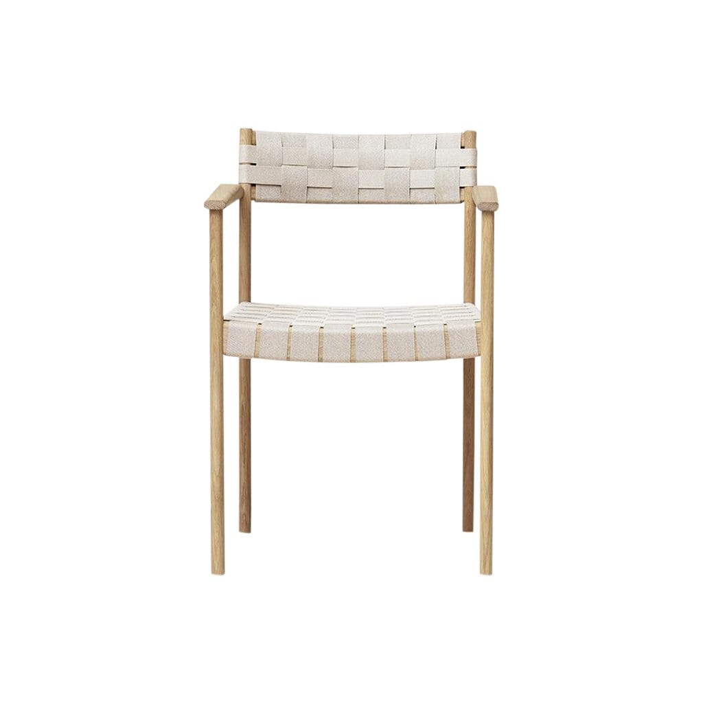 Motif Armchair, White Oak
