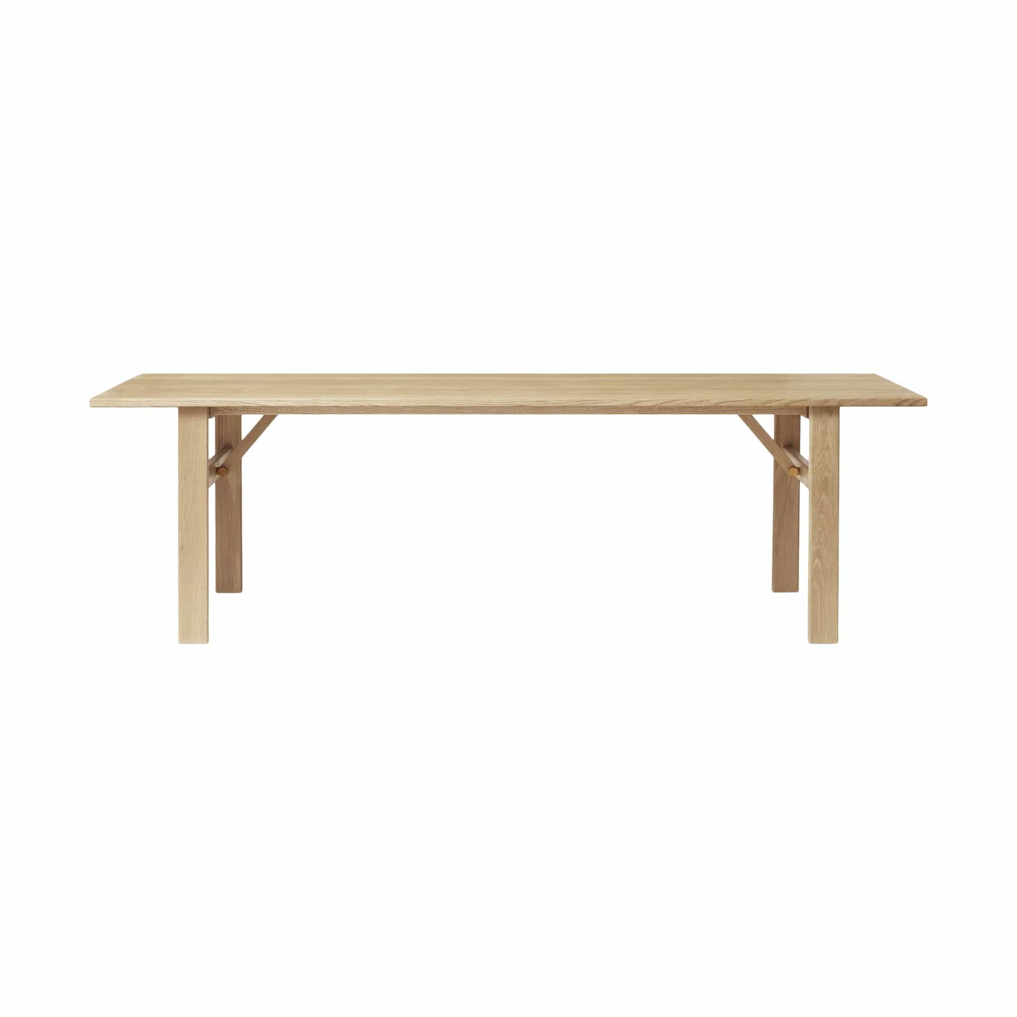 Damsbo Master Dining Table - White Oak