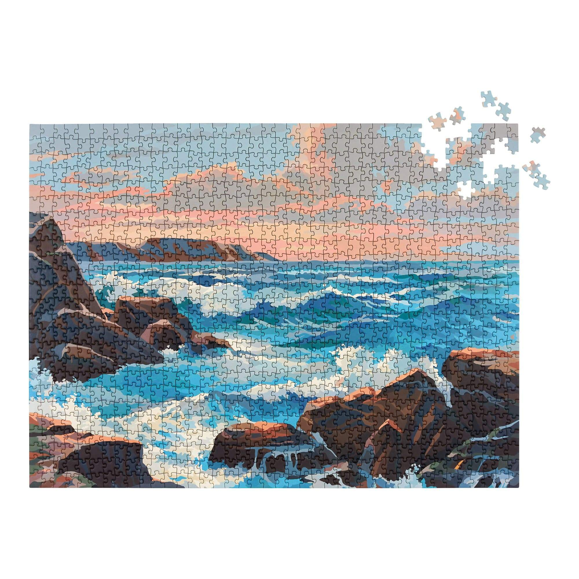 Ocean Paint by Numbers Puzzle