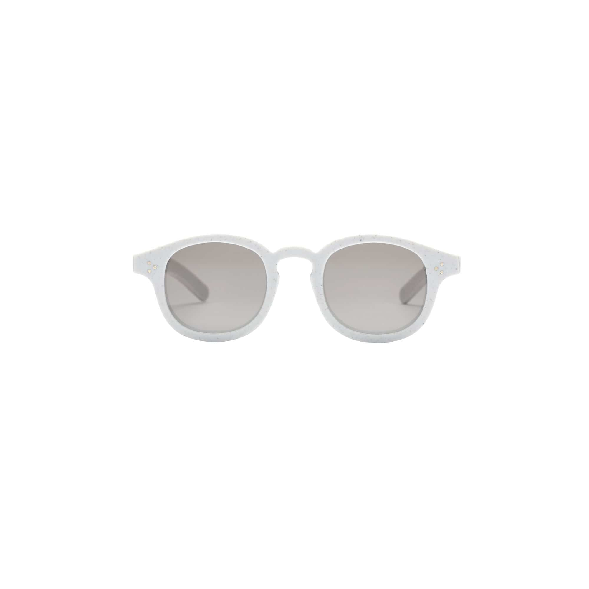 Genusee Sunglasses + Eyewear Non-prescription / Non-polarized / CR39 Roeper Cookies n' Cream + Grey Gradient Sunglasses