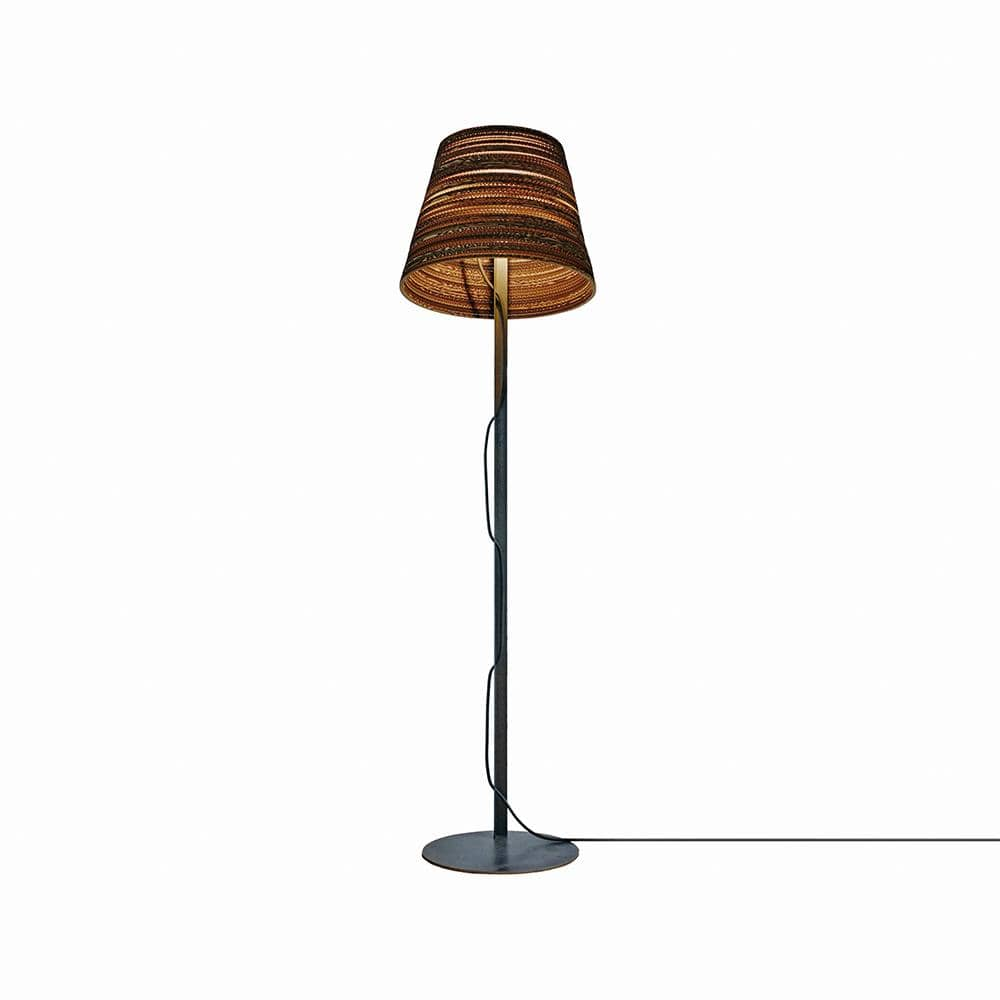 graypants, inc. Floor Lamp Natural / Ø 18, H 14 (in) Tilt Floor Lamp Natural