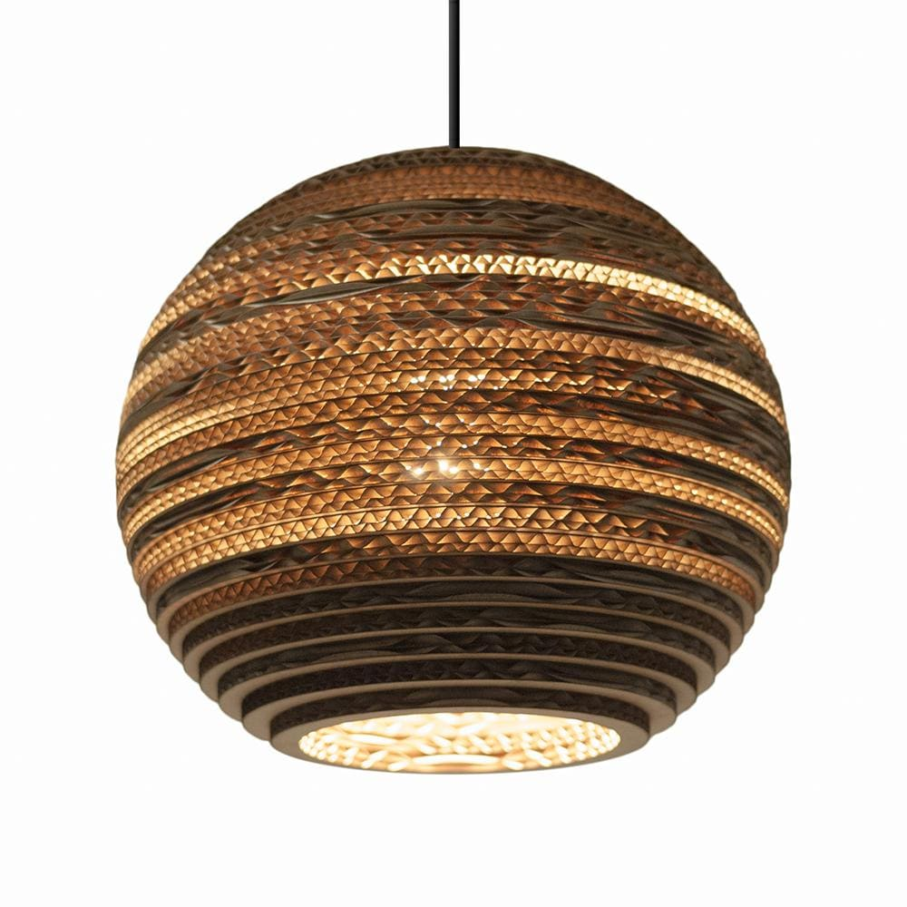 Moon10 Natural Pendant Light