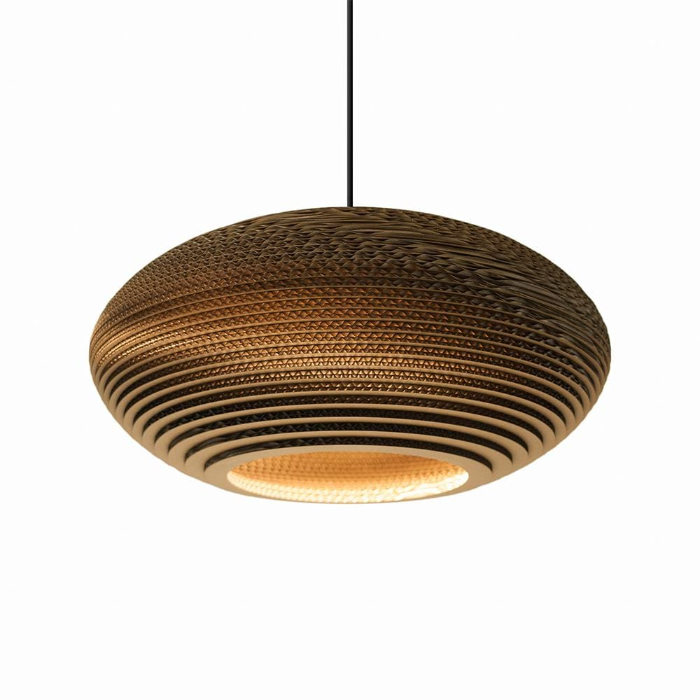 Disc20 Natural Pendant Light