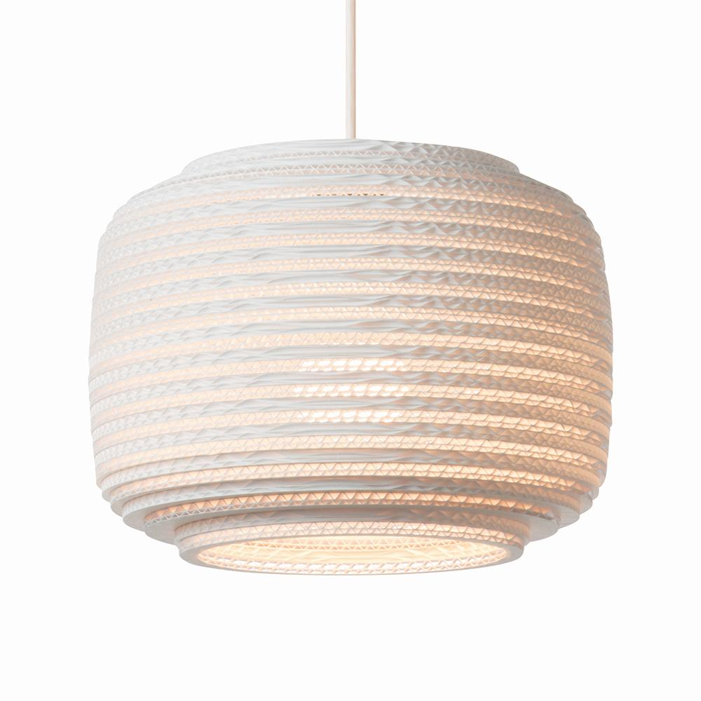 Ausi12 White Pendant Light