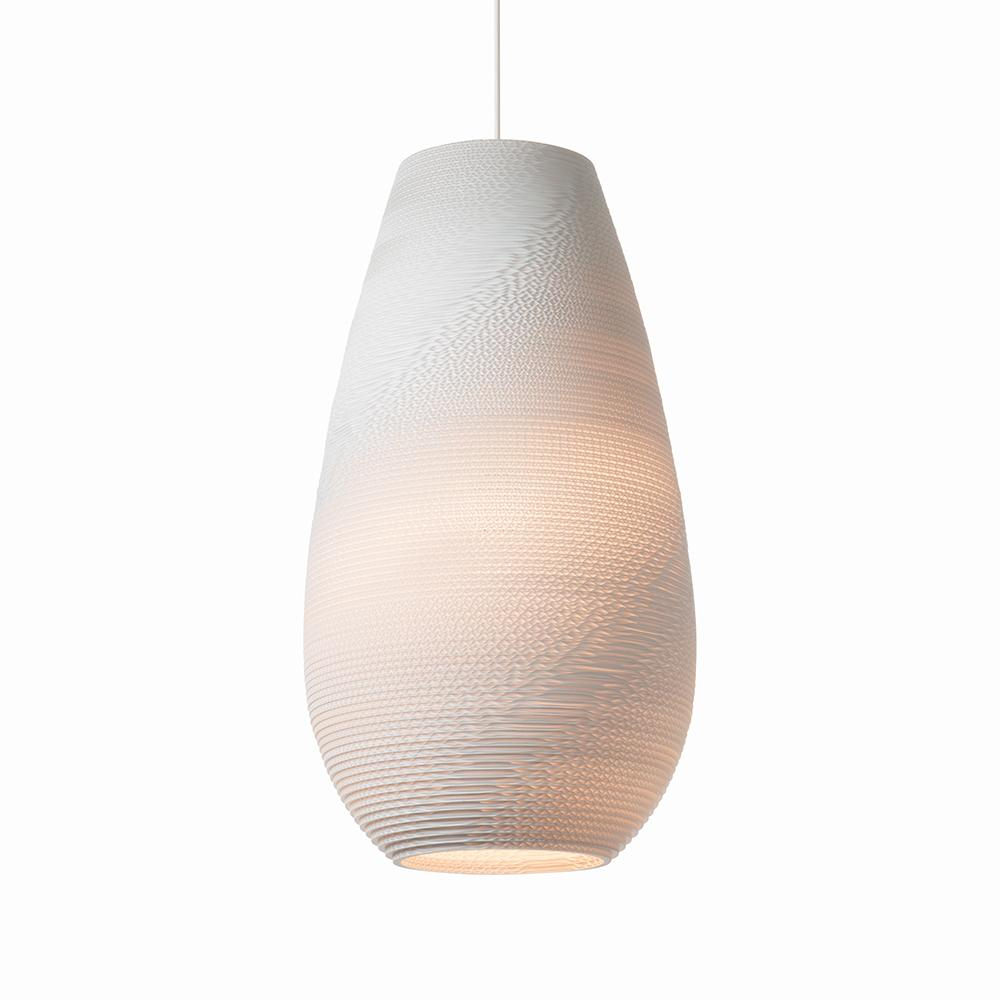 Drop26 White Pendant Light