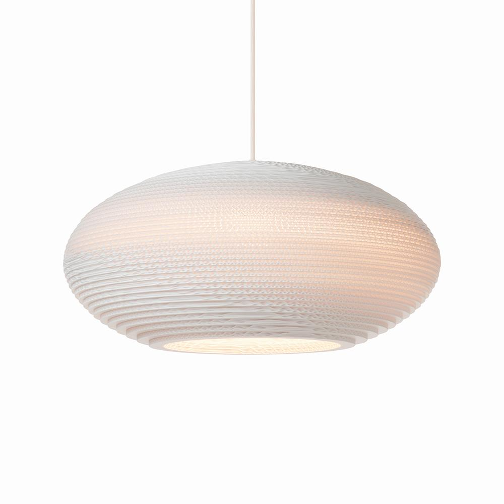 Disc16 White Pendant Light