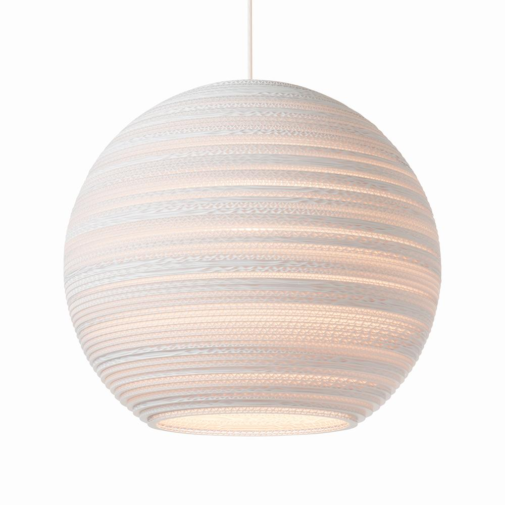 Moon18 White Pendant Light