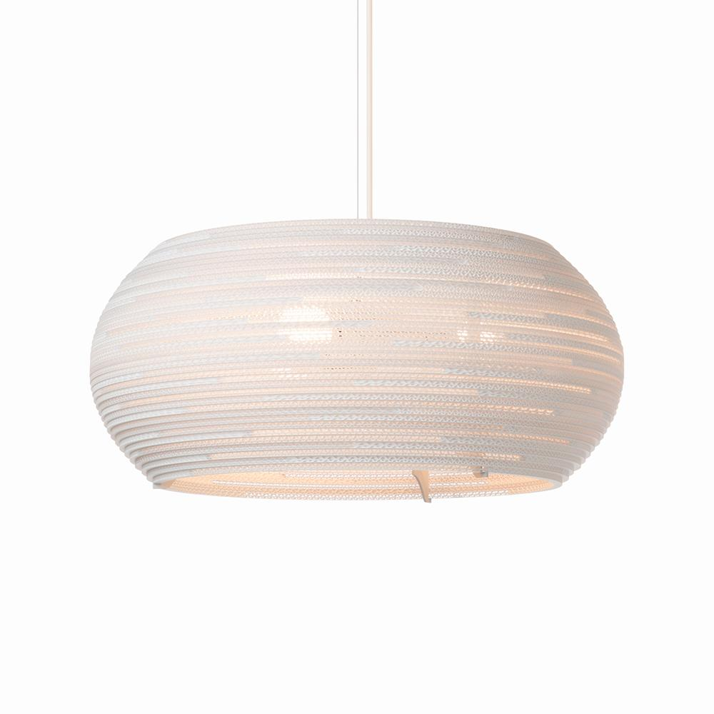 Ohio24 White Pendant Light