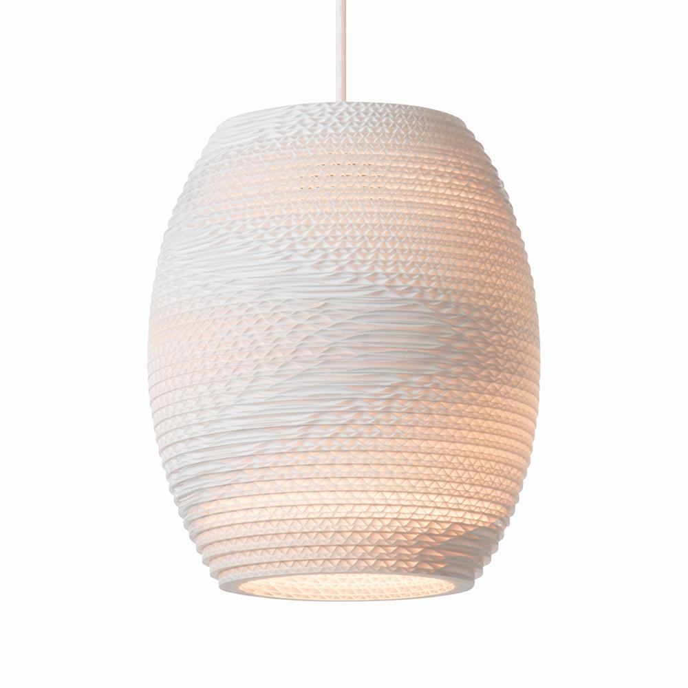 Oliv White Pendant Light