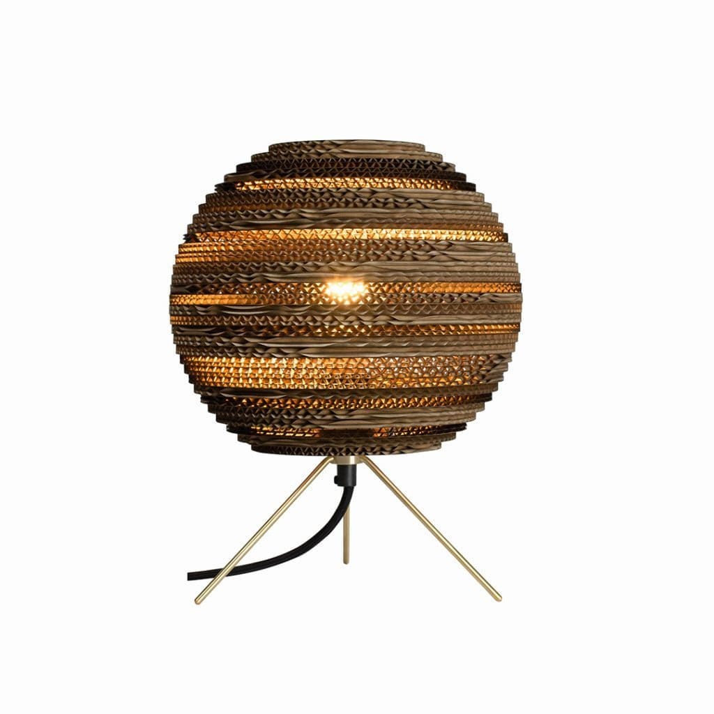 Moon Natural Table Lamp