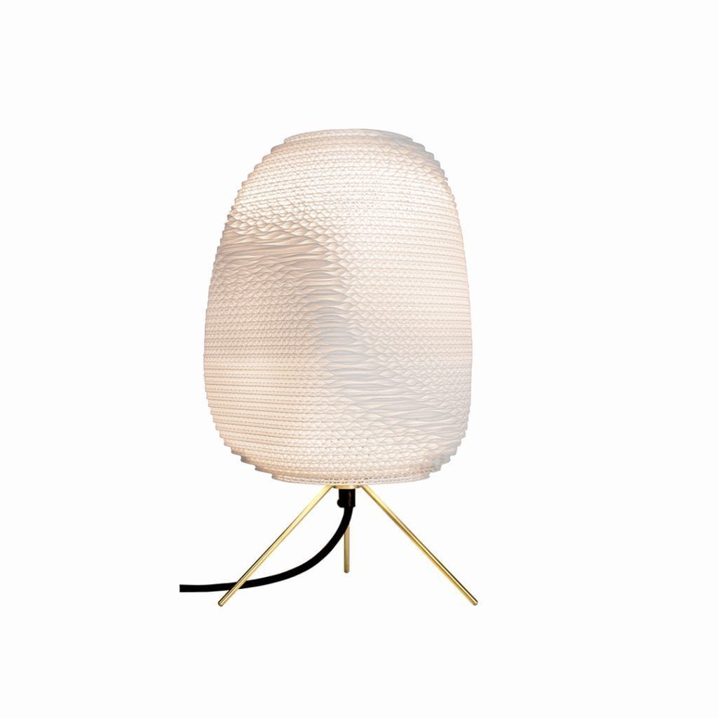 graypants, inc. Table Lamp White / Ø 10, H 11 (in) Ebey Table Lamp White