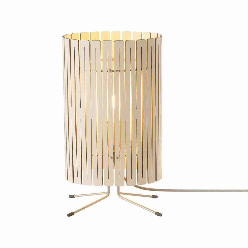 Kerflight T2 Whitewash Table Lamp