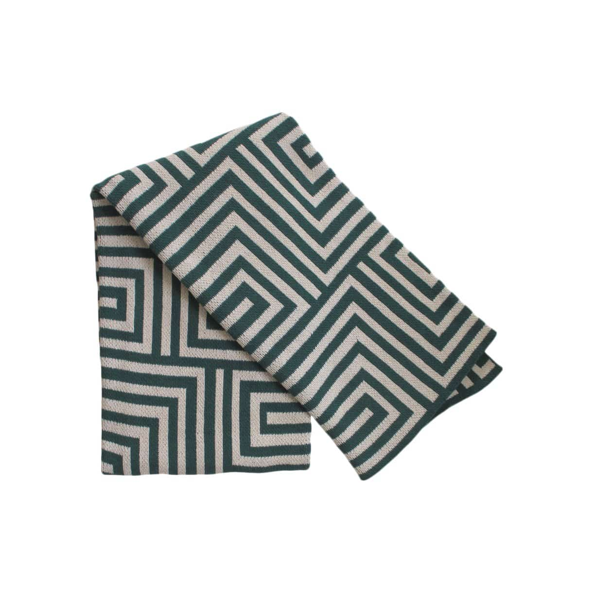 Happy Habitat Cushions + Throws Maze Jungle + Linen Throw