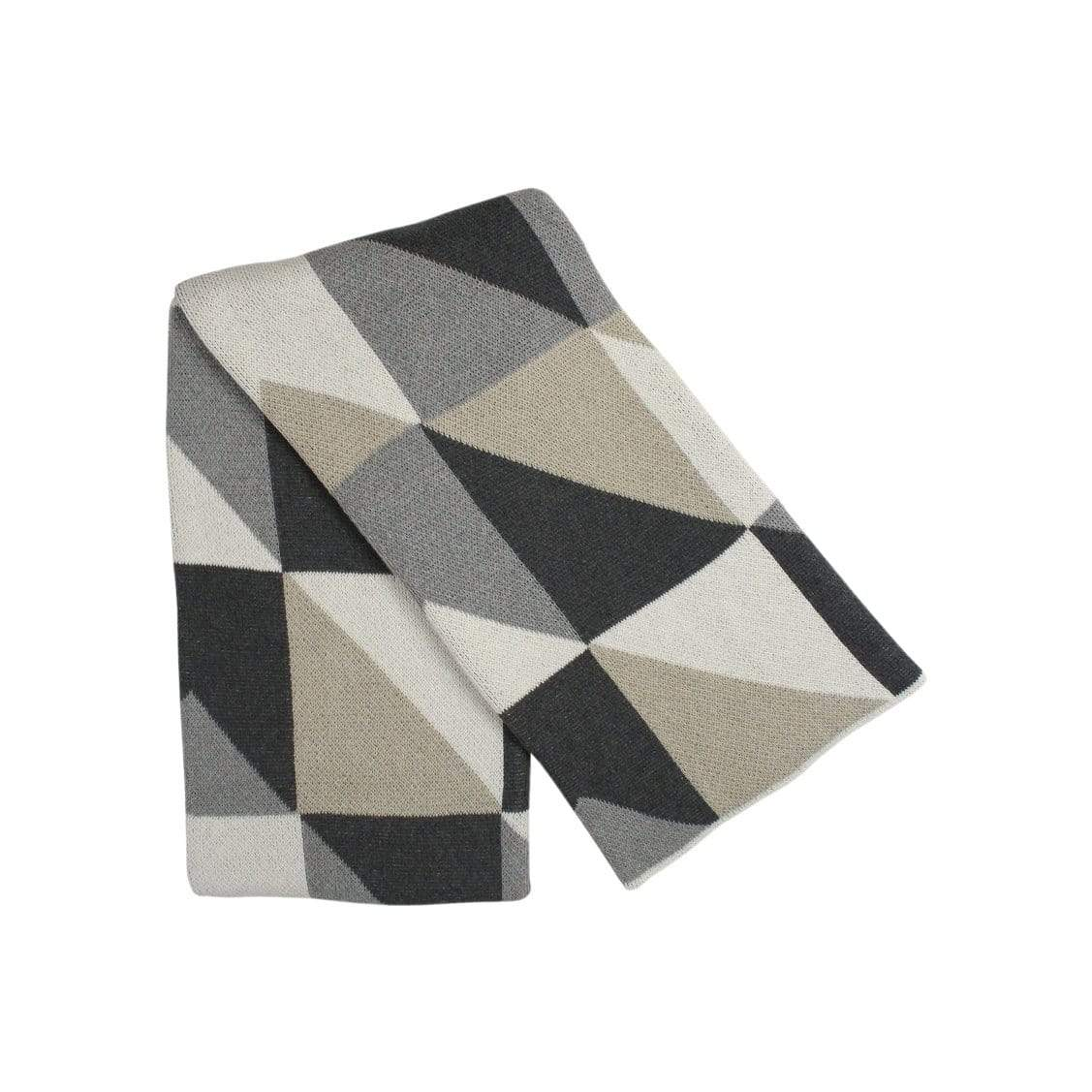 Happy Habitat Cushions + Throws Neutral Angles Throw