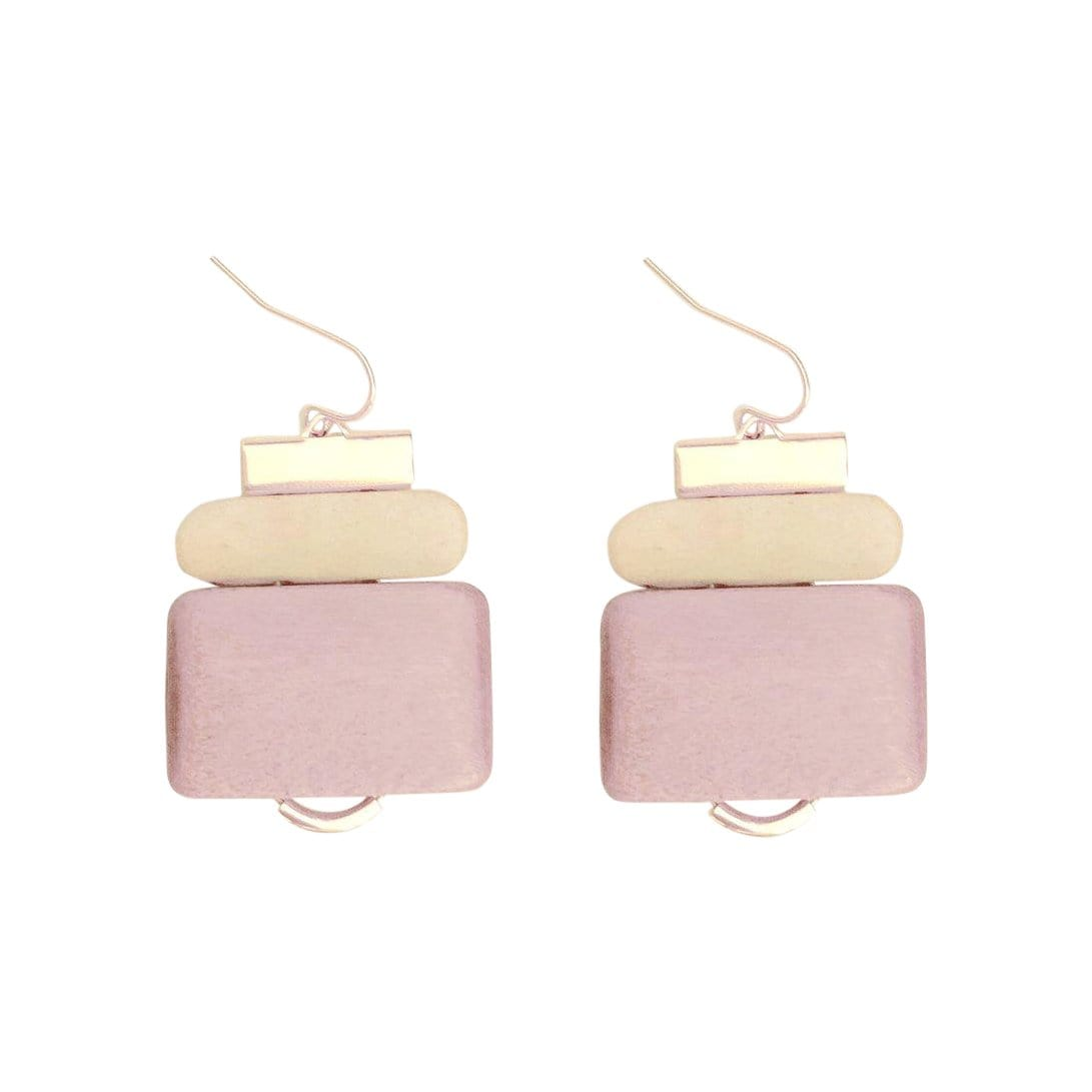 History + Industry Earrings Fir Pink Earrings