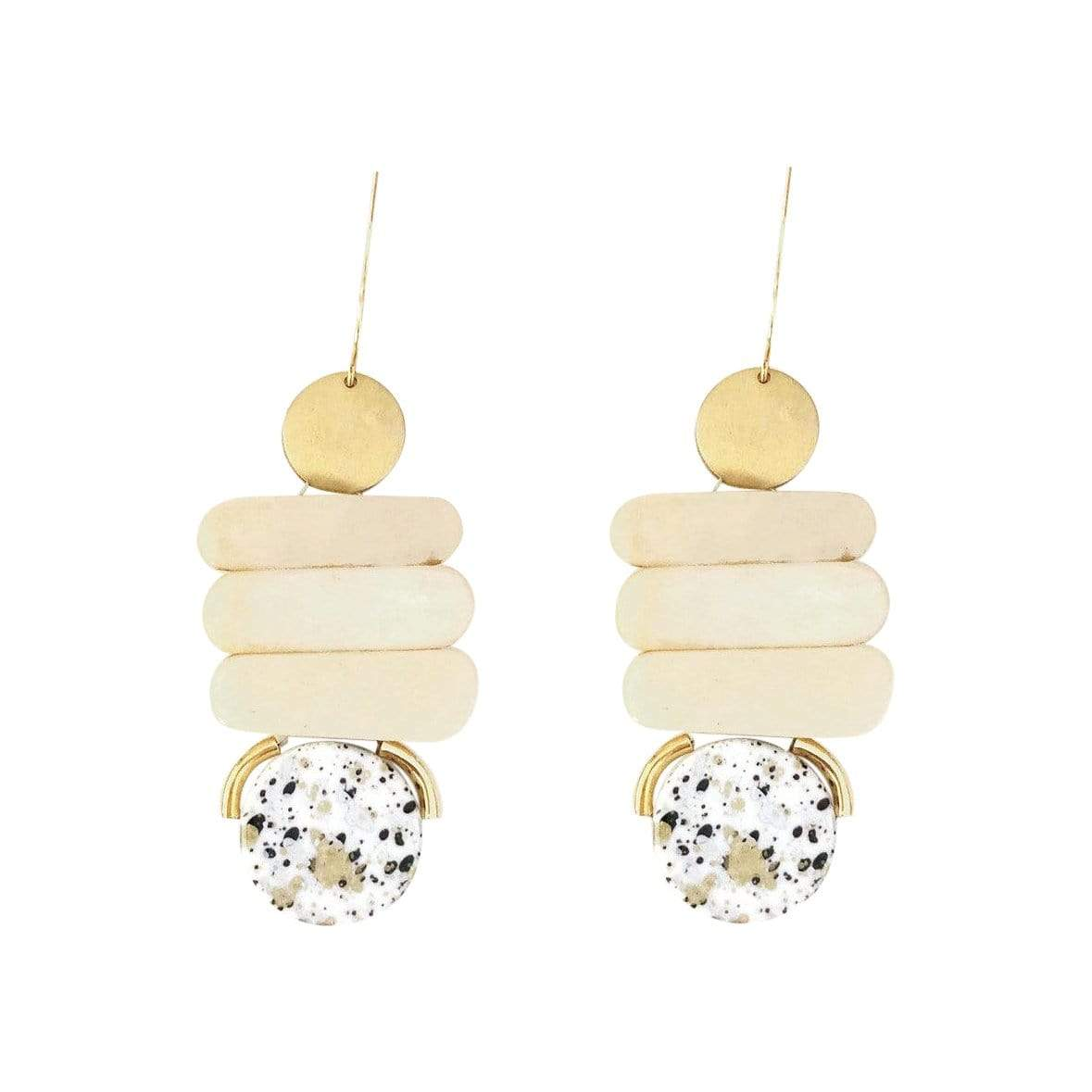 History + Industry Earrings Ladder Light Earrings