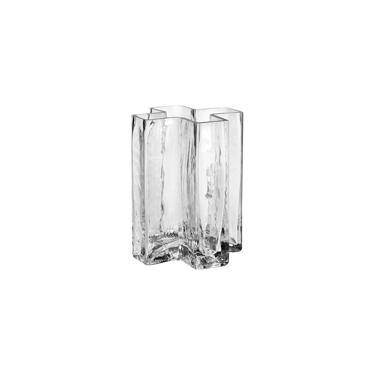 Holmegaard Decor Holmegaard Crosses Vase, Clear, 4.7""