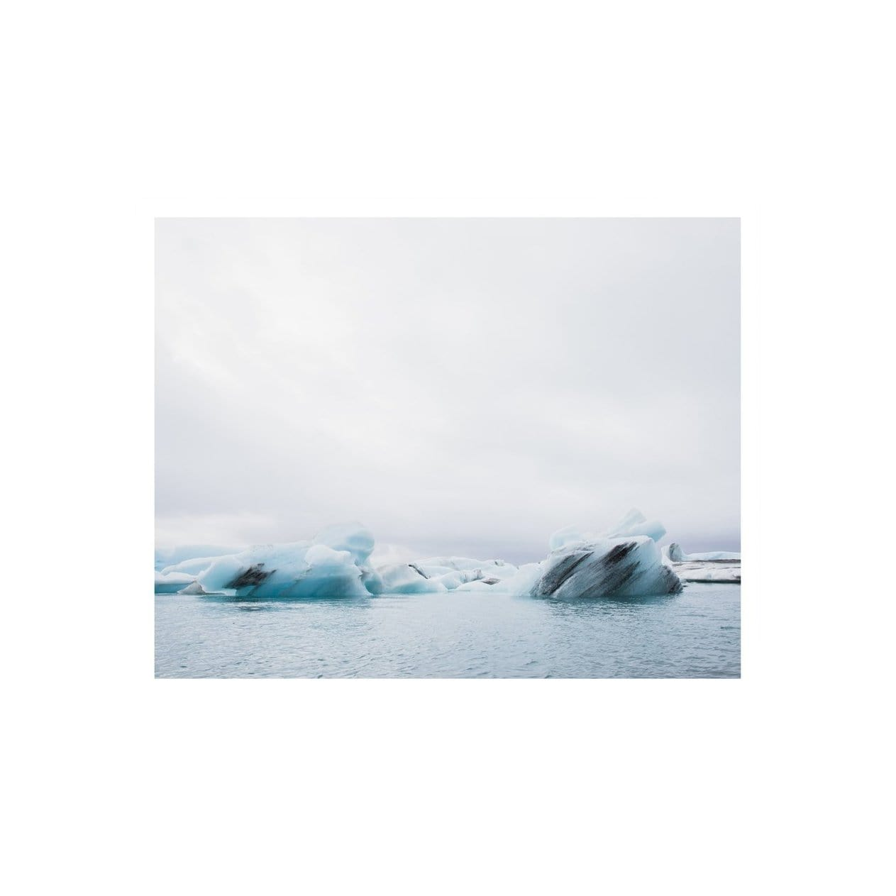 Jennifer Chong Photography + Prints Blue Ice Print