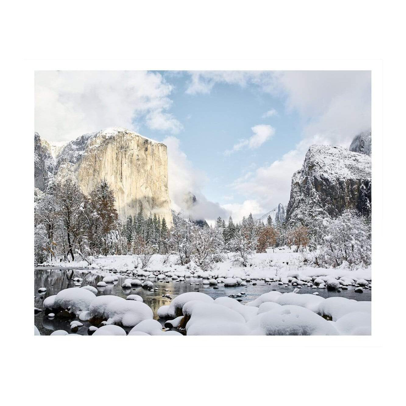 Jennifer Chong Photography + Prints Winter in Yosemite Print