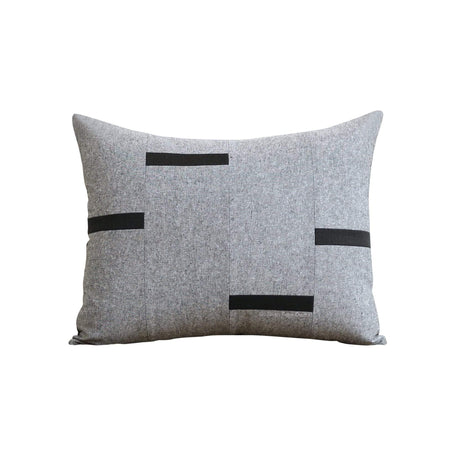 Interconnection Chambray Pillow