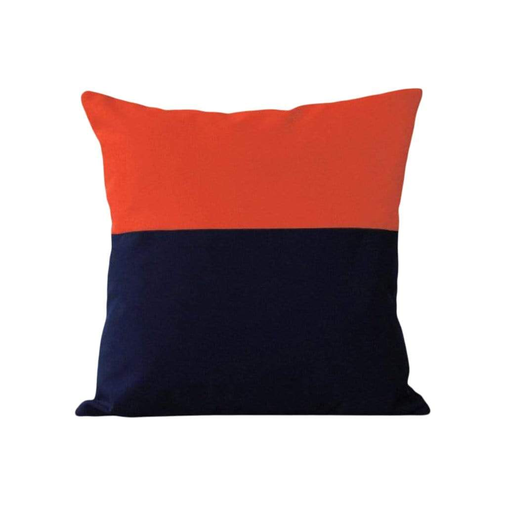 Outdoor Colorblock Pillow - Two Tone