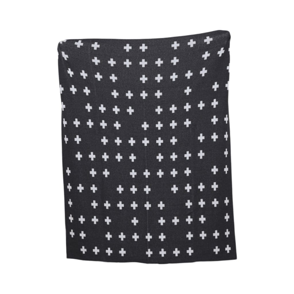 Eco Scatter Cross Throw by Kelly Harris Smith